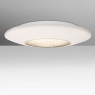 Besa VIVA13C-LED Viva Modern Opal/Clear LED 13  Ceiling Light Fixture
