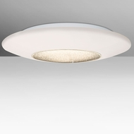 Besa VIVA16C-LED Viva Contemporary Opal/Clear LED 16  Flush Lighting