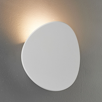 Bruck 103060WH Lunaro Modern Textured White LED Sconce Lighting