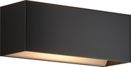Bruck 103070BK QB Modern Black LED Wall Lamp