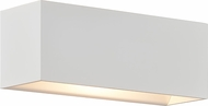 Bruck 103070WH QB Modern White LED Wall Lighting
