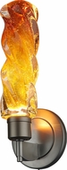 Bruck 104981 Aria Modern Amber LED Wall Lamp