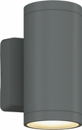 Bruck 105010SV Outdoor Cylinder Contemporary Silver LED Exterior 8 Sconce Lighting
