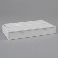 Bruck 138517WH Saber Contemporary White Switch Box