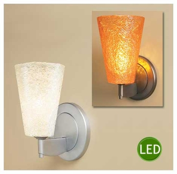 Bruck Bling II LED Textured Wall Sconce