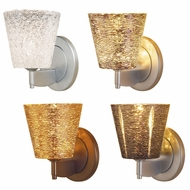 Bruck Bling I Modern 3  Tall Wall Sconce