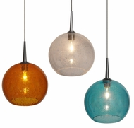 Bruck Bobo Contemporary Halogen Mini Hanging Pendant Light