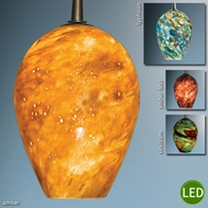 Bruck Bolero LED Art Glass Pendant