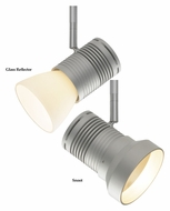 Bruck Chroma Z10 Modern 3 Inch Wide Track Light Head With Shade Options