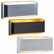 Bruck Eclipse II Modern 3  Tall LED Wall Lamp