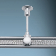 Bruck Enzis Monorail Ceiling Supports - 3.5 to 6.5 inches