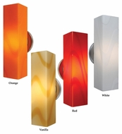 Bruck Houston Modern Style LED Wall Sconce Lighting - 12 Inches Tall
