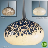 Bruck Laguna LED Art Glass Pendant