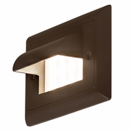 Bruck Step I Contemporary LED Horizontal Hood Exterior Step Light