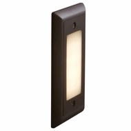 Bruck Step I Contemporary LED Opal Lens Exterior Step Light