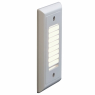 Bruck Step I Contemporary LED Vertical Louver Exterior Step Light