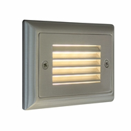 Bruck Step I Modern LED Horizontal Louver Outdoor Step Lighting