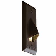 Bruck Step I Modern LED Vertical Hood Outdoor Step Lighting