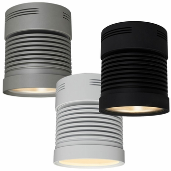 Bruck Z25 Chroma Contemporary 5 4 Nbsp Wide Led Surface Mount Cylinder Ceiling Light