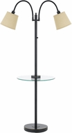 Cal BO-2444GT-DB Gail Dark Bronze Floor Lamp Lighting