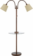Cal BO-2444GT-RU Gail Rust Lighting Floor Lamp