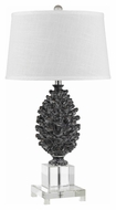 Cal BO-2469TB Pinecone 20  Tall Modern Table Lamp