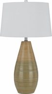 Cal BO-2589TB-2 Value Pack Woad Green Lighting Table Lamp (set of 2)