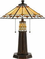Cal BO-2670TB Tiffany Bronze LED Table Top Lamp