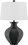 Cal BO-2737TB Woodsfield Antique Silver Table Lamp