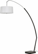 Cal BO-2755FL Bahamas Matte Black Arc Floor Lighting