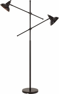 Cal BO-2794FL-DB Canterbury Contemporary Dark Broze Floor Lighting