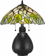 Cal BO-2798TB Tiffany Tiffany Tiffany Lighting Table Lamp