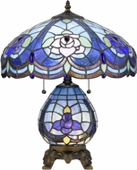 Cal BO-2799TB Tiffany Tiffany Tiffany Table Lamp Lighting w/ LED Night Light