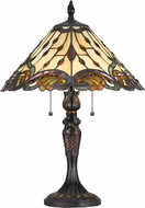 Cal BO-2801TB Tiffany Tiffany Tiffany Side Table Lamp
