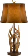 Cal BO-2805TB Darby Country Antler Table Lighting