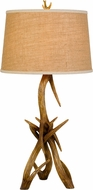 Cal BO-2806TB Drummond Rustic Antler Lighting Table Lamp