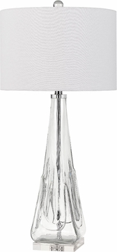 Cal BO-2821TB Piacenza Modern Clear Lighting Table Lamp