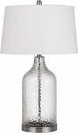 Cal BO-2822TB-2 Rimini Clear Table Lamp Lighting (Set of 2)