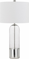 Cal BO-2823TB-2 Anzio Contemporary Clear Table Top Lamp (Set of 2)