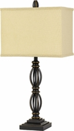 Cal BO-2826TB Mondovi Dark Bronze Table Light