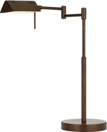 Cal BO-2844DK-RU Clemson Modern Rust LED Task Lighting