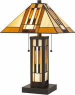 Cal BO-2902TB Tiffany Dark Bronze Table Lighting