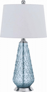 Cal BO-2997TB Mayfield Contemporary Chrome Side Table Lamp