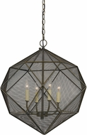 Cal FX-3603-4 Sapelo Contemporary Wire Hanging Pendant Lighting