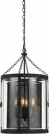Cal FX-3617-4 Westchester Modern Blacksmith 16.5  Foyer Lighting