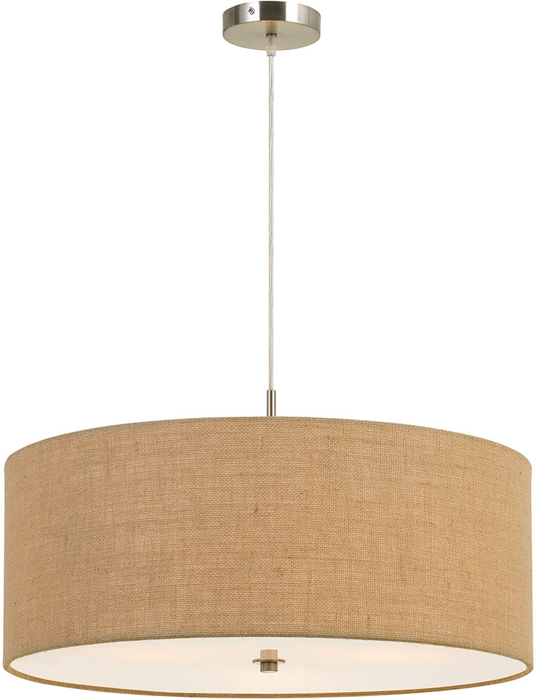 Drum Pendant Lighting Fixture