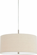 Cal FX-3628-1P Addison Off White Drum Lighting Pendant