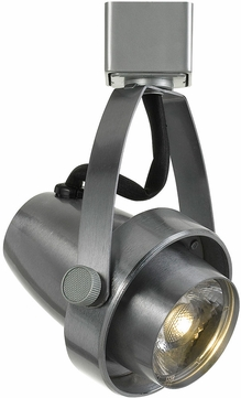 Cal HT-619-BS Modern Brushed Steel LED Track Lighting Head