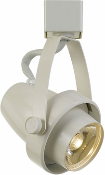 Cal HT-619-WH Contemporary White LED Home Track Lighting Head