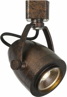Cal HT-701-RU Contemporary Rust LED Track Light Head
